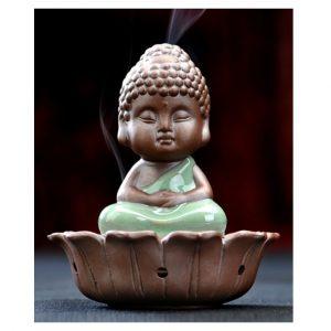Little Buddha Ceramic Incense Burner